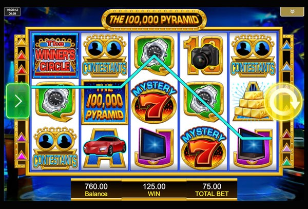 The 100000 Pyramid Machine à Sous Gratuit (15 Lignes) IGT