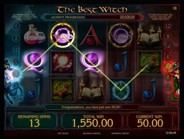 The Best Witch Machine à Sous Gratuit (15 Lignes) Isoftbet