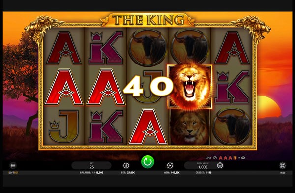 The King Machine à Sous Gratuit (25 Lignes) Isoftbet Sans Inscription