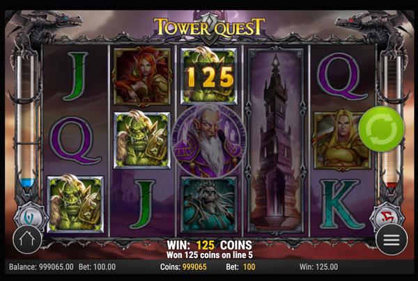 Tower Quest Machine à Sous Gratuit (20 Lignes) Play`n GO