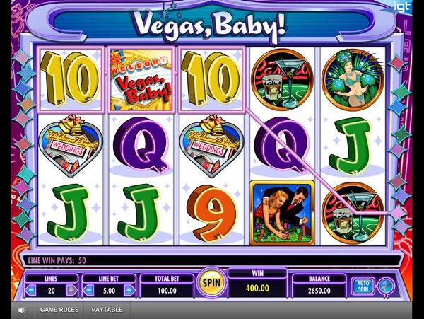 Vegas Baby Machine à Sous Gratuit (20 Lignes) IGT Sans Inscription