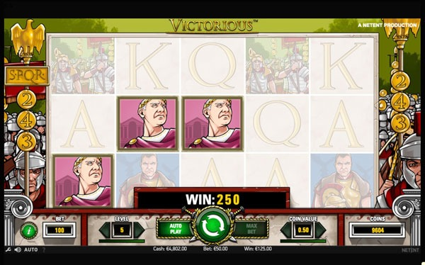 Victorious Machine à Sous Gratuit (243 Lignes) Netent Sans Inscription