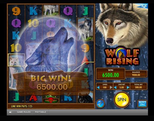 Wolf Rising Machine à Sous Gratuit (100 Lignes) IGT Sans Inscription