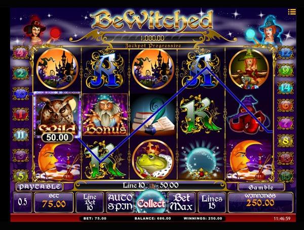 Bewitched Machine à Sous Gratuit (15 Lignes) Isoftbet