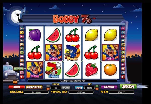 Bobby 7s Machine à Sous Gratuit (25 Lignes) Nextgen