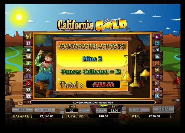 California Gold Machine à Sous Gratuit (20 Lignes) Nextgen