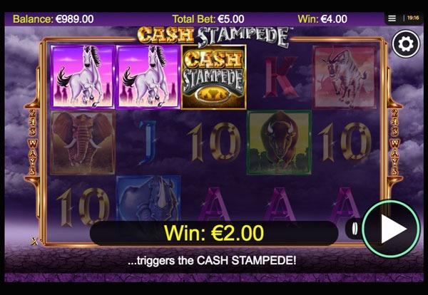 Cash Stampede Machine à Sous Gratuit (243 Lignes) Nextgen