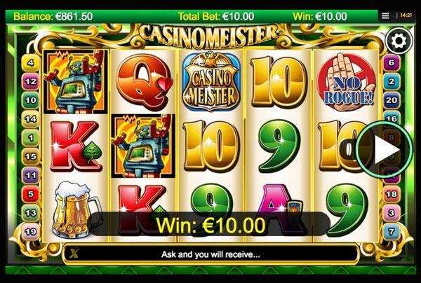 Casinomeister Machine à Sous Gratuit (20 Lignes) Nextgen
