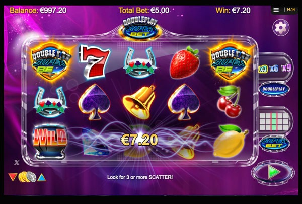Doubleplay Super Bet Machine à Sous Gratuit (25 Lignes) Nextgen