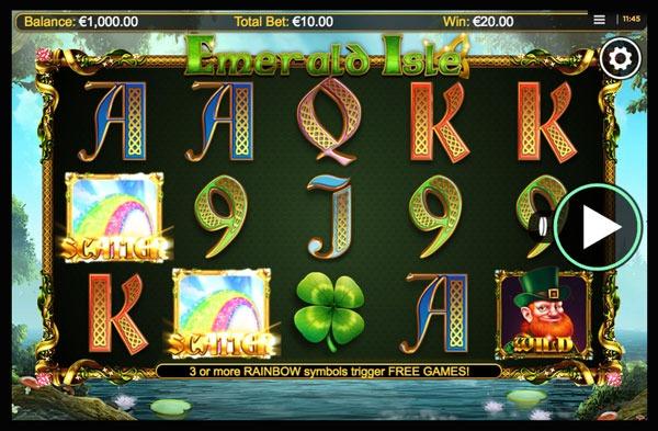 Emerald Isle Machine à Sous Gratuit (20 Lignes) Nextgen