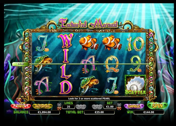 Enchanted Mermaid Machine à Sous Gratuit (25 Lignes) Nextgen