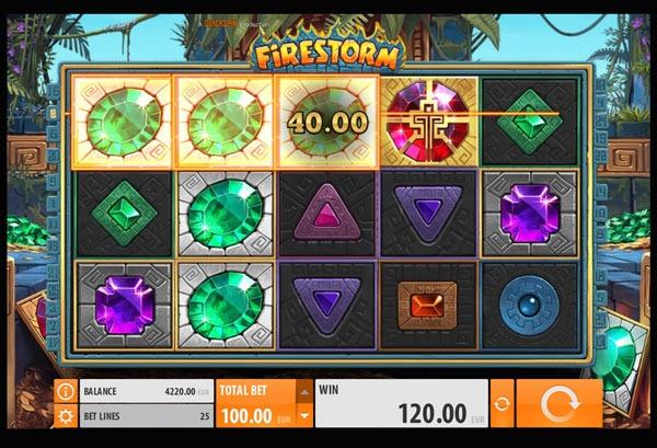 Firestorm Machine à Sous Gratuit (25 Lignes) Quickspin