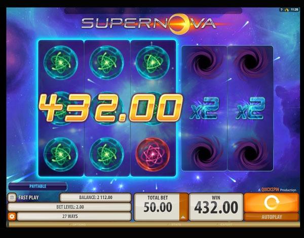 Supernova Machine à Sous Gratuit (27 Lignes) Quickspin Sans Inscription