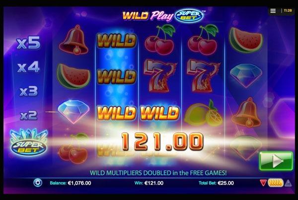 Wild Play Super Bet Machine à Sous Gratuit (40 Lignes) Nextgen