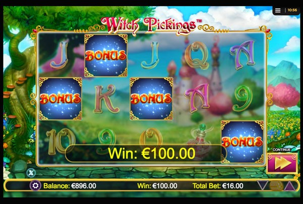 Witch Pickings Machine à Sous Gratuit (25 Lignes) Nextgen