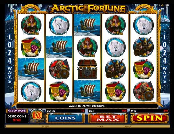 Arctic Fortune Machine à Sous Gratuit (Lignes)