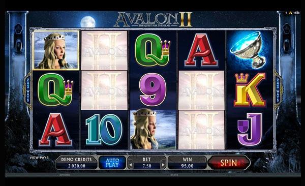 Avalon 2 Machine à Sous Gratuit (243 Lignes)