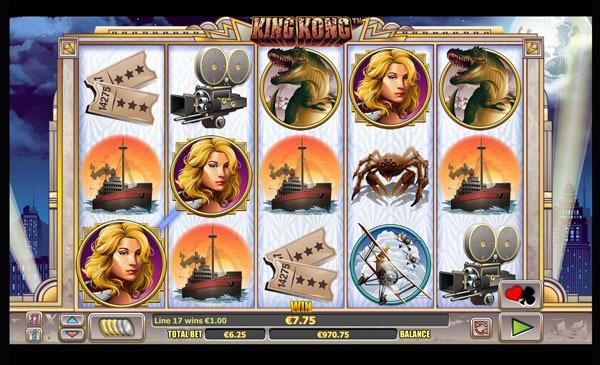 King Kong Machine à Sous Gratuit (25 Lignes) Nextgen