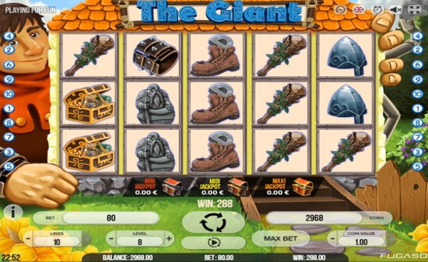 The Giant Machine à Sous Gratuit (10 Lignes) Fugaso
